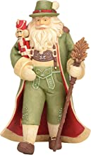 "Enesco Heart of Christmas Alpine Christmas, 6003886, Stone Resin, Multicolor, 8"""