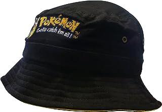 Nintendo Original Pokémon   Casquette   Chapeau   Mec   Enfants   56 cm   100% Coton   Pikachu-Broderie   Noir