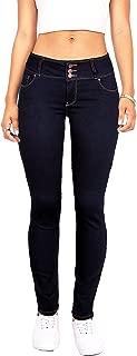 Women's Juniors Body Flattering Mid Rise Skinny Jeans