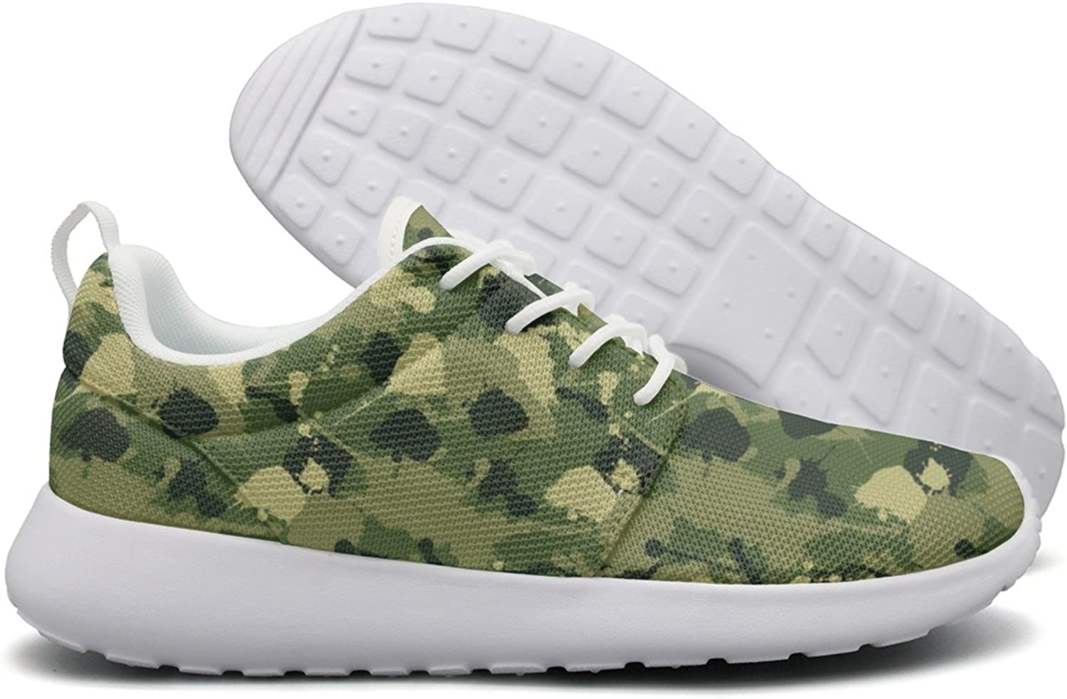 Hoohle Sports Rustoleum Camouflage Womens Roshe One Flex Mesh Mens Casual shoes