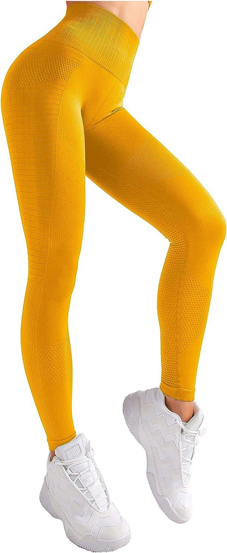 Angel-fashions High Waist Workout Yoga Pants Women Gym Vital Seamless Training Leggings