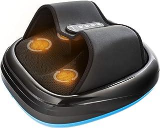 ماساژور پا Lifepro Shiatsu با حرارت برای تسکین درد ، گردش خون ، ورم کف پا ، نوروپاتی دیابتی - دستگاه ماساژ درمانی تحت فشار فشاری تحت فشار برای زنان ، مردان ، سالمندان