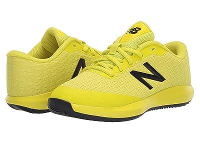 New Balance Kids KC996v4 Tennis (Little Kid/Big Kid) (Sulphur Yellow/Lemon Slush) Kids Shoes