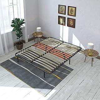 Maison Aubertin Kit Cadre à Lattes Morphologique 3 Zones de Confort - 180 x 200 cm