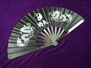 Kung Fu Tai Chi Fan/Stainless Steel/Cotton Material/Chinese Shadow Boxing Equipment