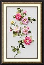 Wandafull Ribbon embroidery Kit Handmade Camellia(No frame)