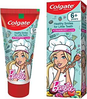 Colgate Anticavity Kids Barbie Toothpaste (6+ years), Strawberry flavour - 80g