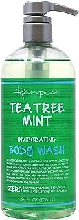 RENPURE Tea Tree Mint Invigorating Body Wash, 24 Ounce