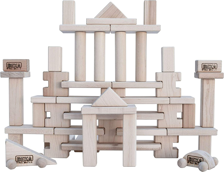 Beka 50-Piece Little 67% OFF of fixed price Award Blocks Builder Wooden