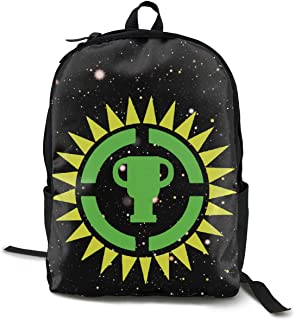 OSCAR CURTIS Theory A Game Theory Logo Stylish Classic Large Capacity Double Zip Backpack Bag Laptop Bag For Women Men Kids