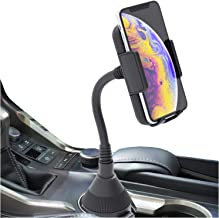 Phone Holder For Car, Cup Holder Phone Mount, Cell Phone Cup Holder for Car Compatible with iPhone Xs,XS MAX,XR,X,8,8Plus,7,7Plus,6,6Plus, Galaxy S7,8,9,10, Google and all smartphones by Bestrix