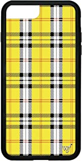 Wildflower Limited Edition Cases for iPhone 6 Plus, 7 Plus, or 8 Plus (Yellow Tartan)