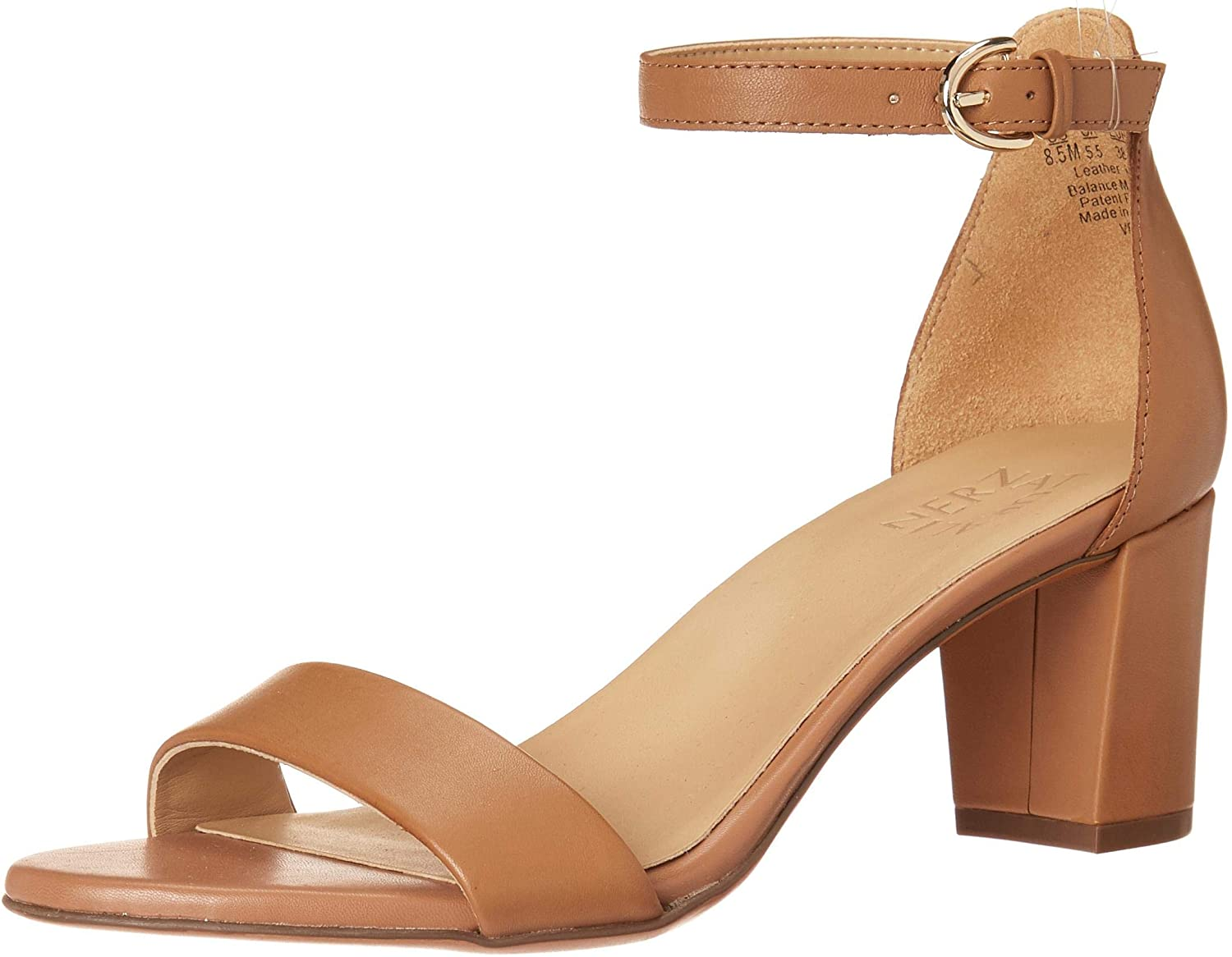 Naturalizer Women's Be super welcome Raleigh Mall Vera Heeled Sandal