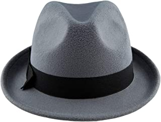 Amazon.com  Greys - Fedoras   Hats   Caps  Clothing 3fd5248aa2de