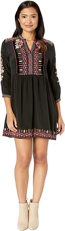 Jyll Henley Boho Dress