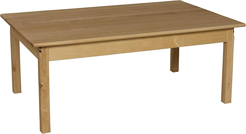 Wood Designs WD83424 Child S Table 30 X 48 Rectangle With 24 Legs