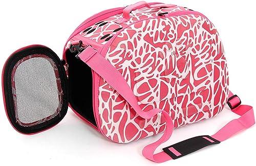 venta mundialmente famosa en línea LBTSQ-Cat Bolsas Portable Portable Portable Pet Bolsas Skew Perro Packs Plegables Bolsas De Al Aire Libre Viajes Productos para Mascotas.  punto de venta