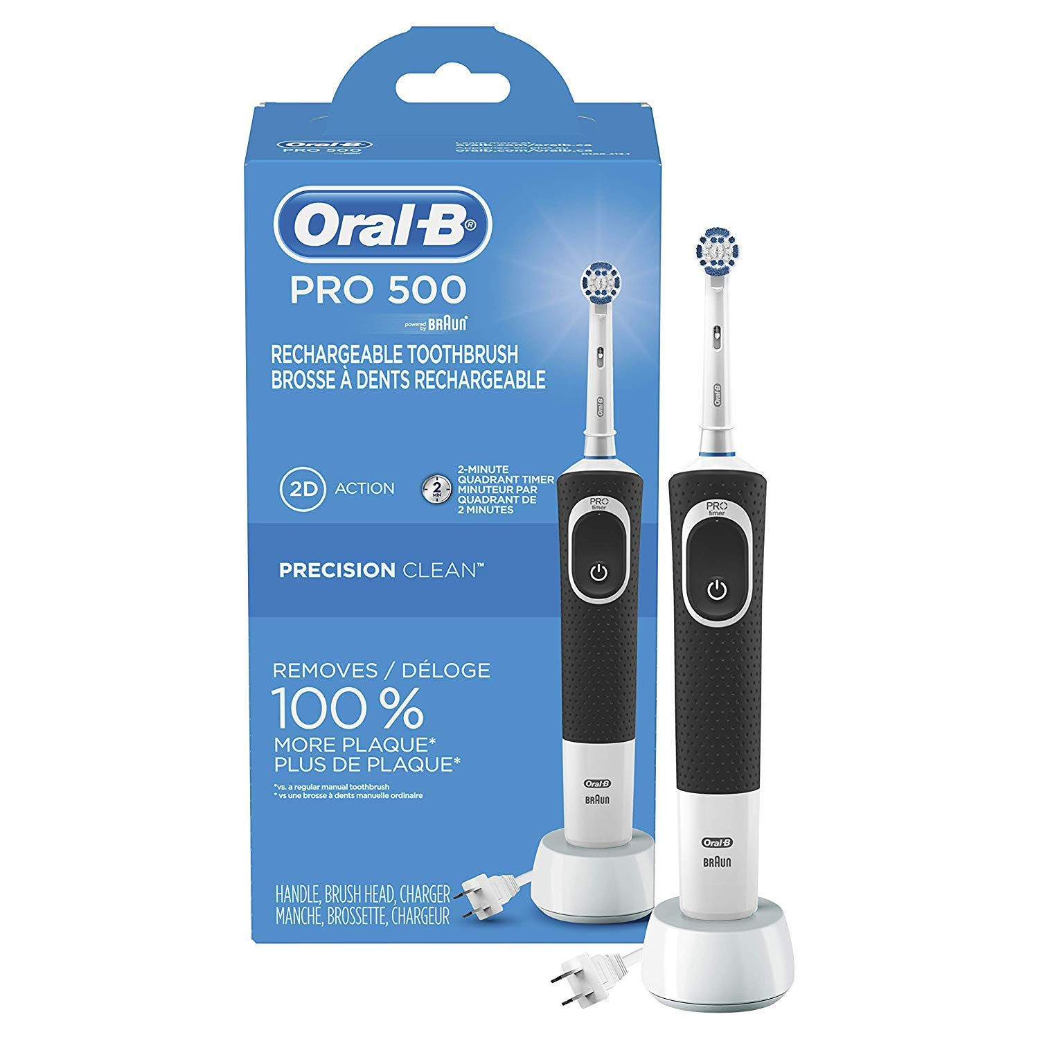 Oral B Rechargeable Toothbrush Automatic Precision