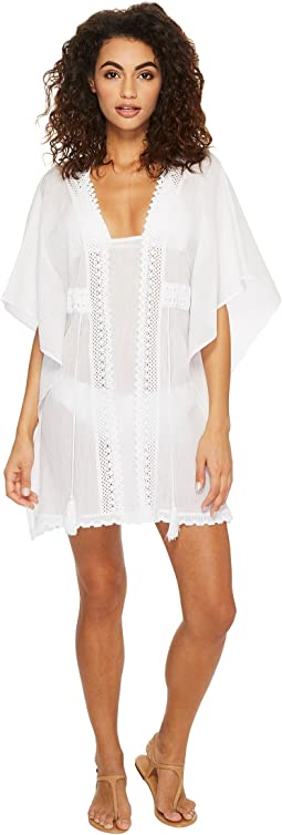 Jantzen Crochet Tunic Cover-Up