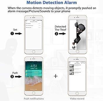 Mini Spy Camera WiFi, Relohas HD 1080P Spy Camera Wireless Hidden Live Streaming, Upgraded Night Vision/Motion Activa...