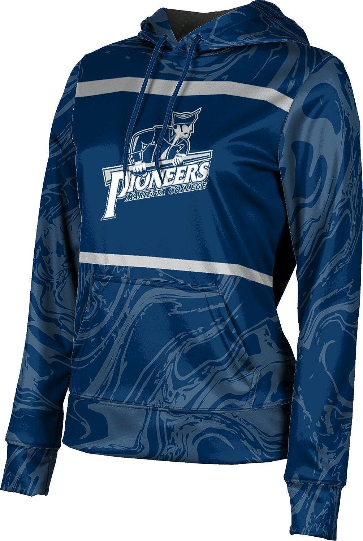 ProSphere Marietta College Girls' Pullover Hoodie, School Spirit Sweatshirt (Ripple)