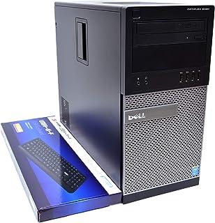 メモリ32GB SSD+HDD ハイブリッド 中古パソコン DELL OPTIPLEX 9020 MT 4コア8スレッド Core i7 4770(3.40GHz) マルチ RADEON Windows10 ミニタワー