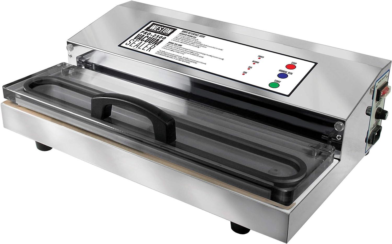 tienda de pescado para la venta Weston 65-0201 sellador al vac-o Pro-2300 430 de acero acero acero inoxidable w   Cobalt Lid  Descuento del 70% barato