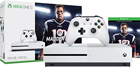 Microsoft Xbox One S 500GB Console - Madden NFL 18 Bundle - Xbox One