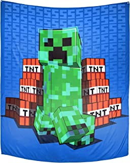 Minecraft SSSS Tapestry – 50 x 60 Inch Wall Hanging...