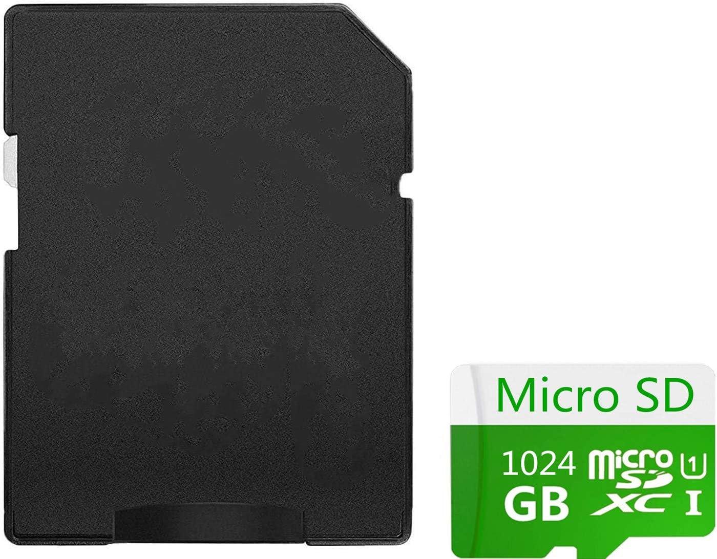 1024GB Micro SD SDXC Card High Speed Class 10 SDXC Card TF Memory Card with Adapter (B-1024GB)