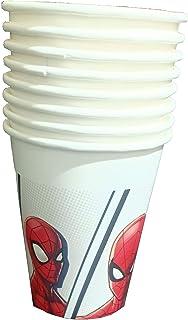 Procos Fsc Paper Cups 200 Ml Super Hero Spider-Man - 8 Pieces