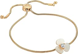 Kate Spade New York Disco Pansy Slider Bracelet