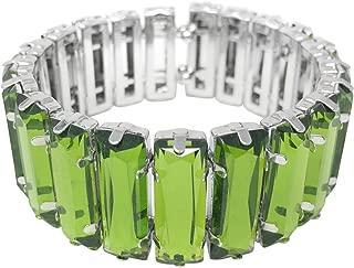 Fun Lightweight Silver Tone Cuff Bangle Bracelet - Assorted Colors