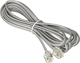 Networx RJ11 6 Conductor Straight Wired Modular Telephone Cable-7 Feet