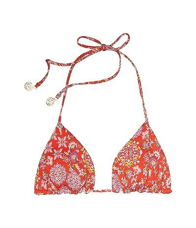 Luli Fama Calypso Reversible Seamless Triangle Top (Rojo) Women