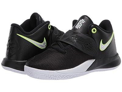 Nike Kids Kyrie Flytrap III (Little Kid) (Black/White/Volt) Kids Shoes