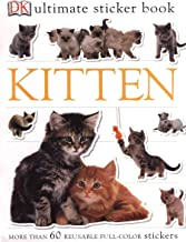 Ultimate Sticker Book: Kitten: More Than 60 Reusable Full-Color Stickers