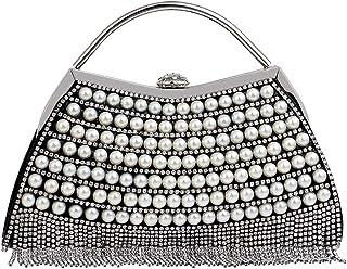 ETH Black Dress Diamond Evening Bag Shoulder Bag Ladies Handbag Chain 23.5CM * 17.5CM * 5.5CM Hand Bag