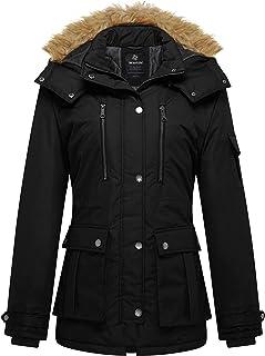 Women's Quilted Winter Coat Warm Puffer Jacket Thicken...
