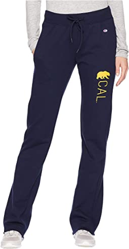 Cal Bears Eco® University Fleece Open Bottom Pants