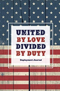 United By Love Divided By Duty: Soldier Military Pages, For Writing, With Prompts, Deployed Memories, Write Ideas, Thought...