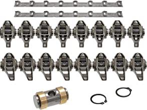 Michigan Motorsports LS3 Rocker Arms and GM Stands - With Bronze Trunion Bushing Kit Installed L99 L76 L92 LS9 LSA