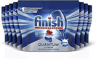Finish Powerball Quantum Ultimate Dishwasher Tablets Original 144 Tablets (8x18)