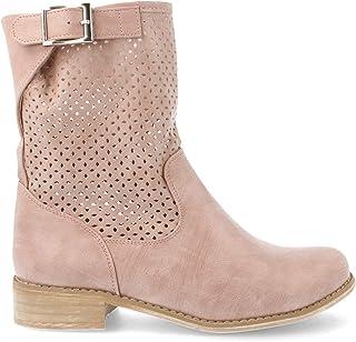 Amazon.es: botas camperas de verano Zapatos: Zapatos y