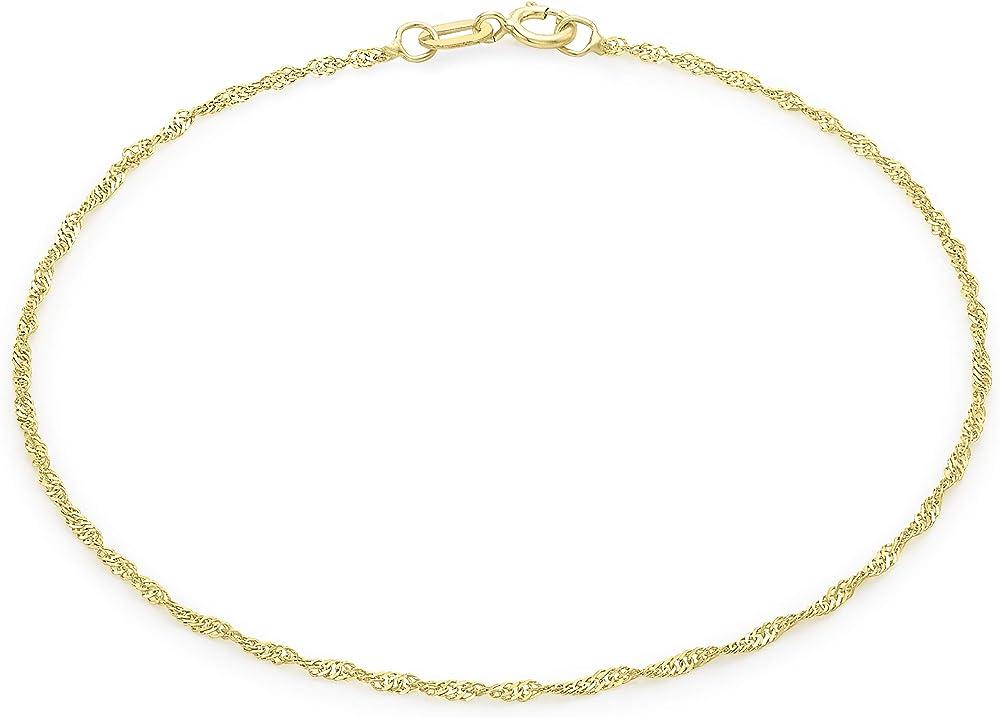 Carissima gold bracciale da donna, in oro giallo 9k (375) 1.23.0461