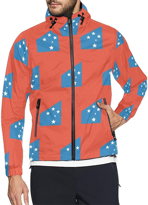 Samoa 5 ☆ popular San Jose Mall Flag Mens and Windbreaker Womens Jacket Windproof