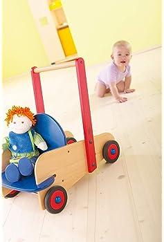 Toddmomy Beb/é Empujar Y Tirar Juguete Infantil Aprendizaje Andador Empujar Carrito para Caminar Ni/ños Juguete Interesante