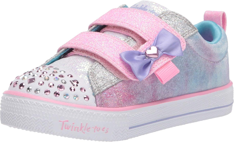 Spring new Max 79% OFF work Skechers Unisex-Child Shuffle Sneaker Lites