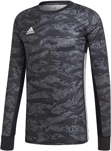 adidas ADIPRO 19 Goalkeeper Jersey Junior GK Shirt Black for Soccer Goalkeeping