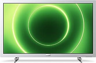 Philips 24PFS6855/12 Televisor 24 Pulgadas LED,Full HD, HDR 10, Pixel Plus HD, Smart TV, DTS-HD, HDMI,Modelo 2020/2021, Plateado Claro, 60 cm